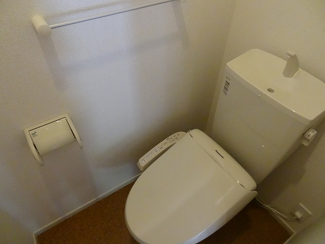 パルパレスA 01010号室のトイレ