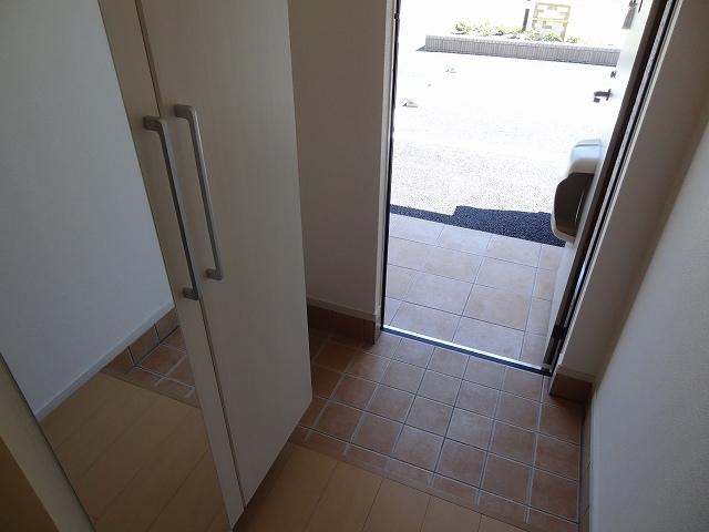 パルパレスA 01010号室の玄関