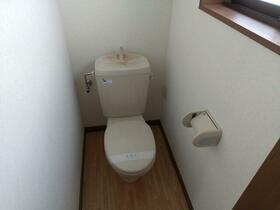 レジデンスワンバレー桜井 201号室のトイレ