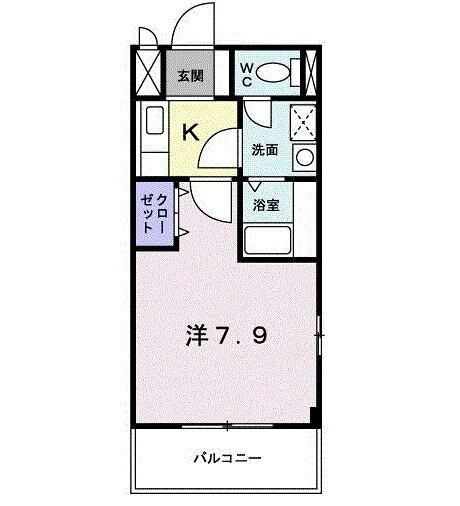 ヌーベル西武庫・03010号室の間取り