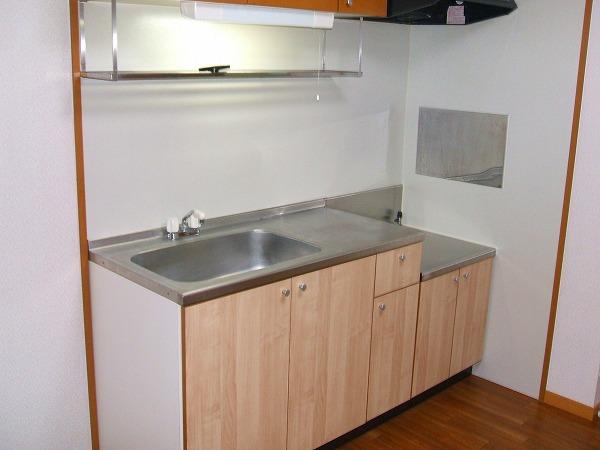 グリーンコーポ勝部 205号室のキッチン