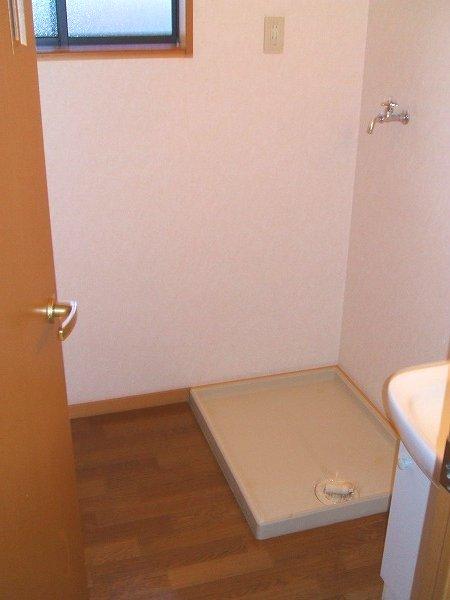 グリーンコーポ勝部 205号室の洗面所