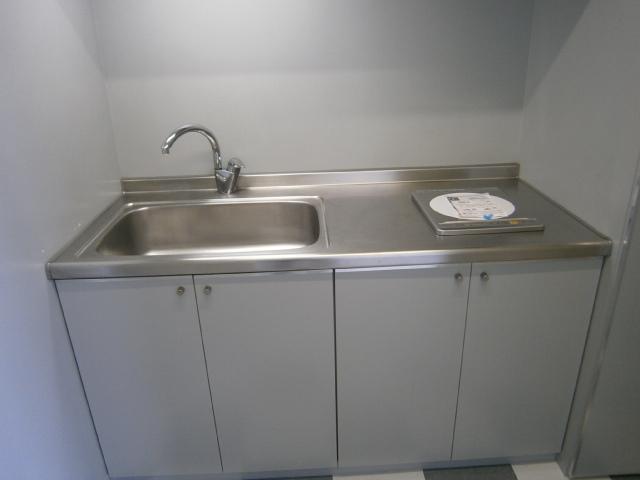 アッパルタメントベラヴィスタ 801号室のキッチン