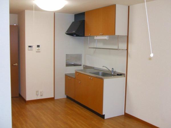 前野ヒルズ 203号室のキッチン