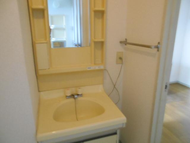 ライフタウン高幡 201号室の洗面所