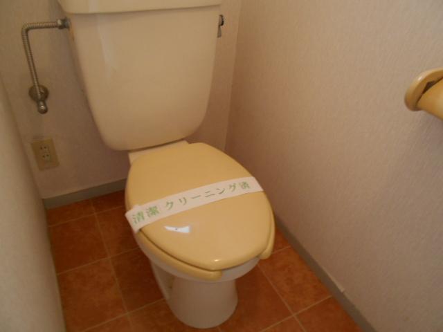 ライフタウン高幡 201号室のトイレ