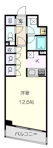 CORNES HOUSE NAGOYA・1103号室の間取り
