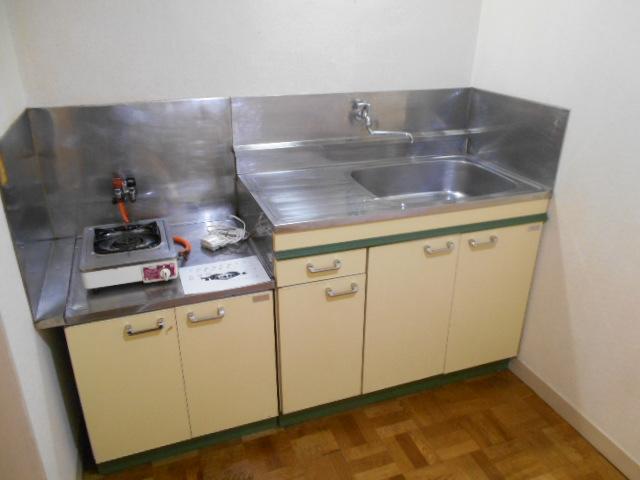 ママハウス 202号室のキッチン