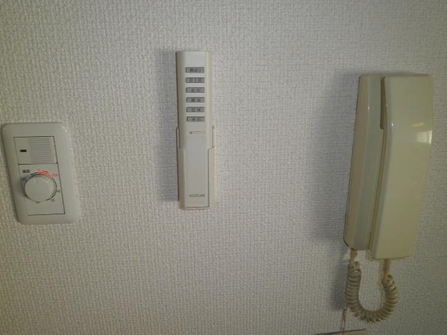 アルカディアプラック B101号室のセキュリティ