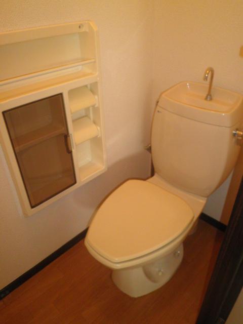 アルカディアプラック B101号室のトイレ