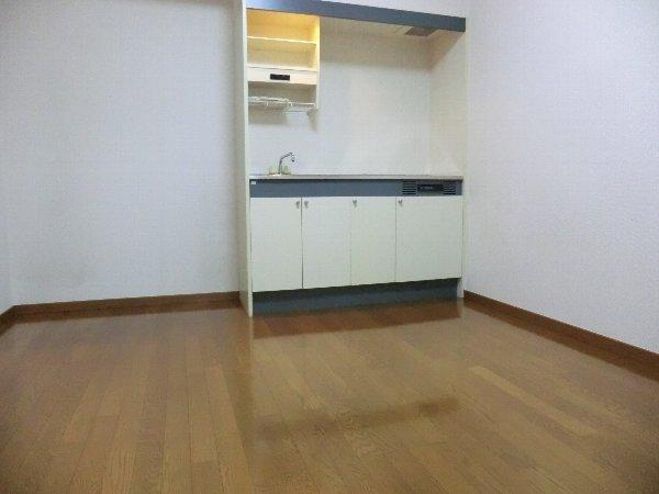 ジャカランダ 203号室のキッチン
