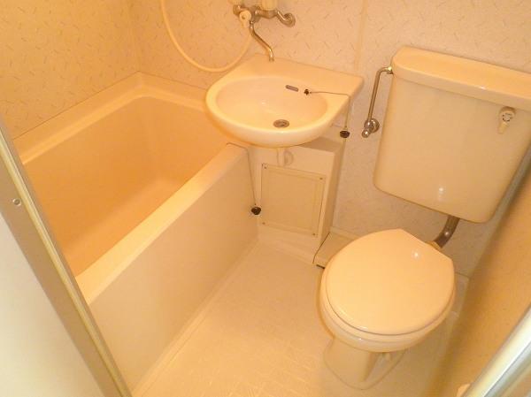 西町コート 105号室のトイレ