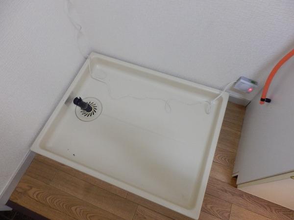 パレス大津 201号室の洗面所