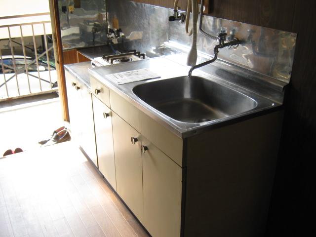 小玉荘 204号室のキッチン