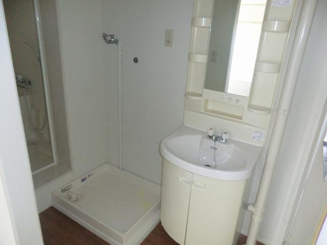 坪田ハイツ 301号室の洗面所