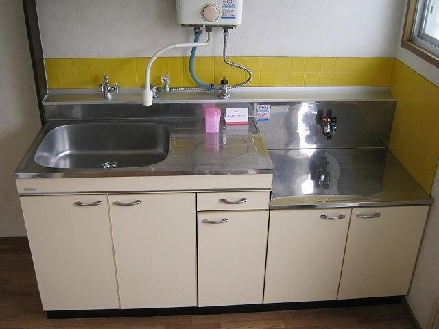 あかねハイツ 201号室のキッチン