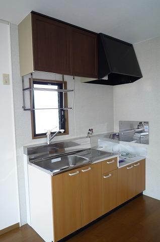 セジュール二本木A 203号室のキッチン