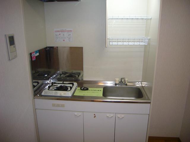 ライフモリ2号館 202号室のキッチン