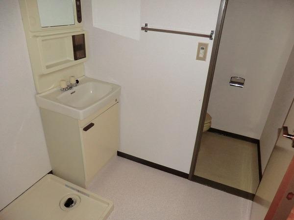 210ルミエール 213号室の洗面所