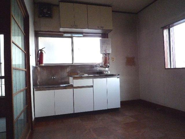 久末アパート 202号室のキッチン