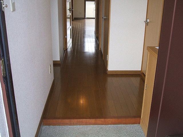 フレスカ伊吹 201号室の玄関