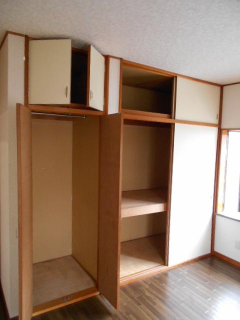 メゾンカトレア 201号室の収納