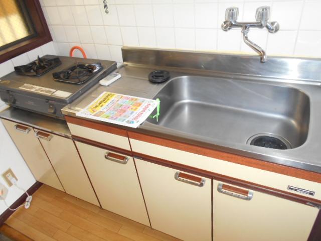 カナディアンハイツ臼井 205号室のキッチン