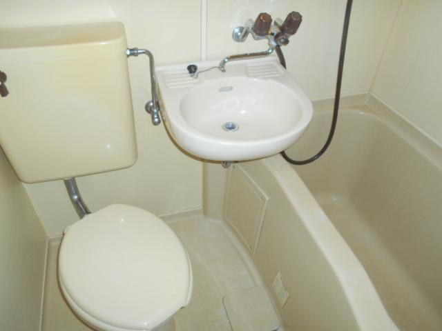 カナディアンハイツ臼井 205号室の風呂