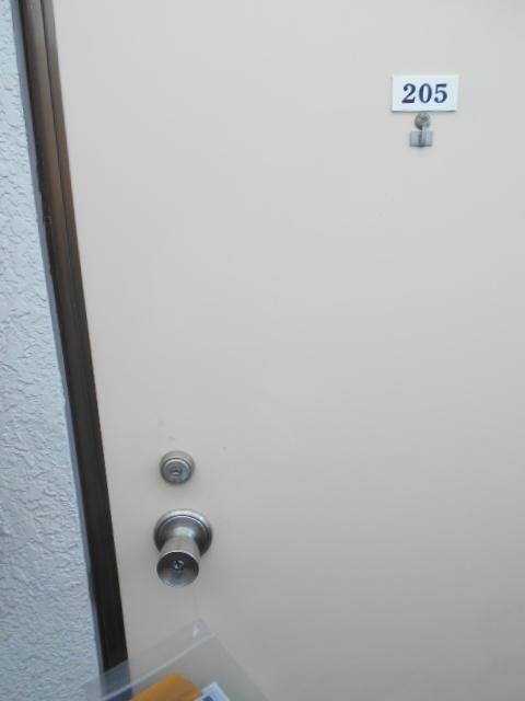 カナディアンハイツ臼井 205号室のセキュリティ
