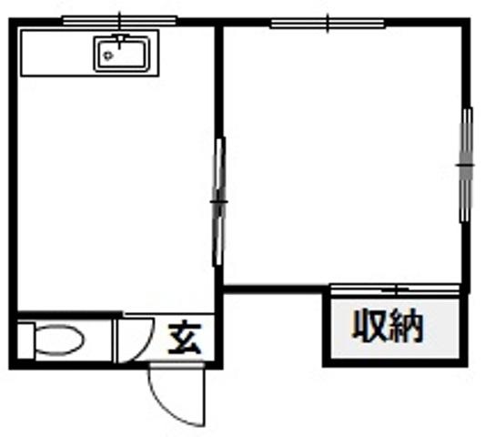 松田ビル 301号室の間取り