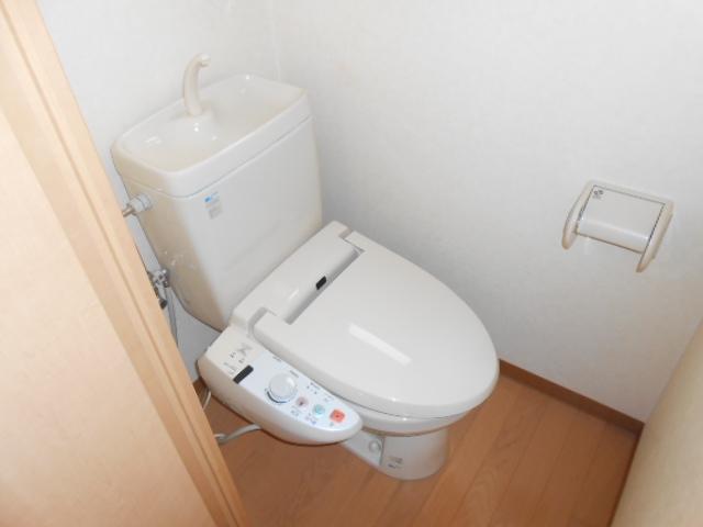 サンテール亀島 3B号室のトイレ