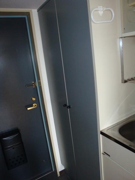 プレスイン篠原橋 4B号室の玄関