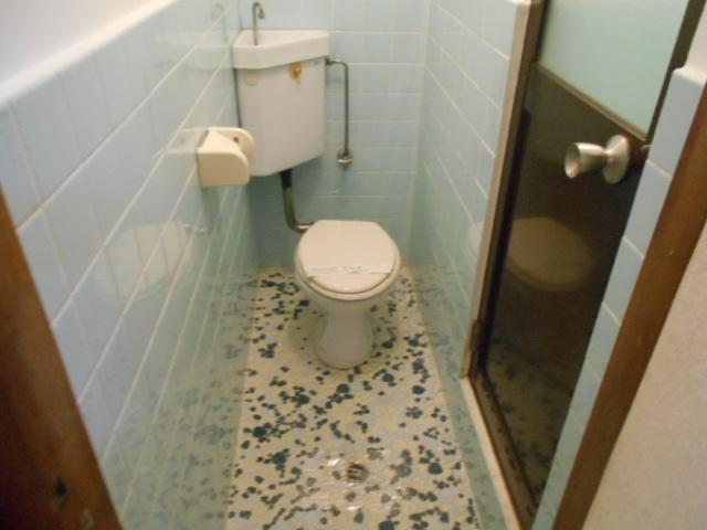 ハイツ大覚寺 206号室のトイレ