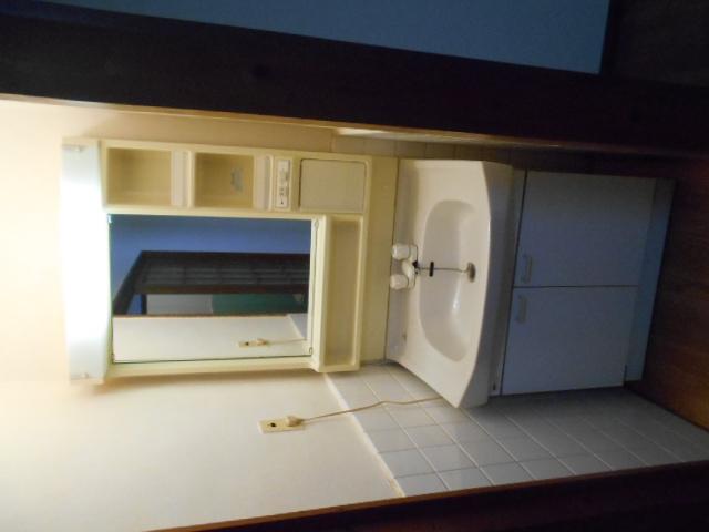 ハイツ大覚寺 206号室の洗面所