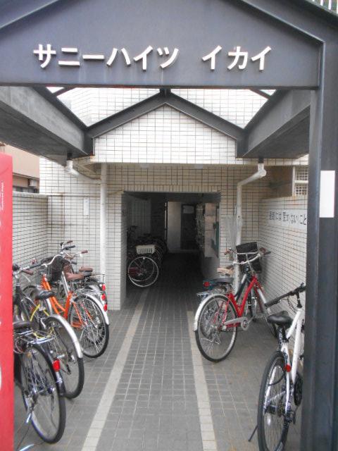 サニーハイツ西ノ京 3-F号室のエントランス