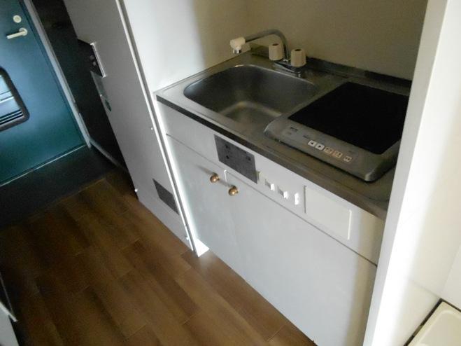 スプリングイセヤマ 204号室のキッチン