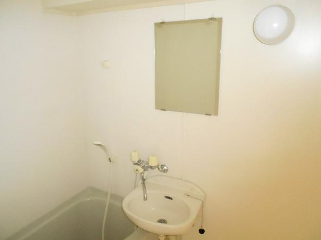 スプリングイセヤマ 204号室の洗面所