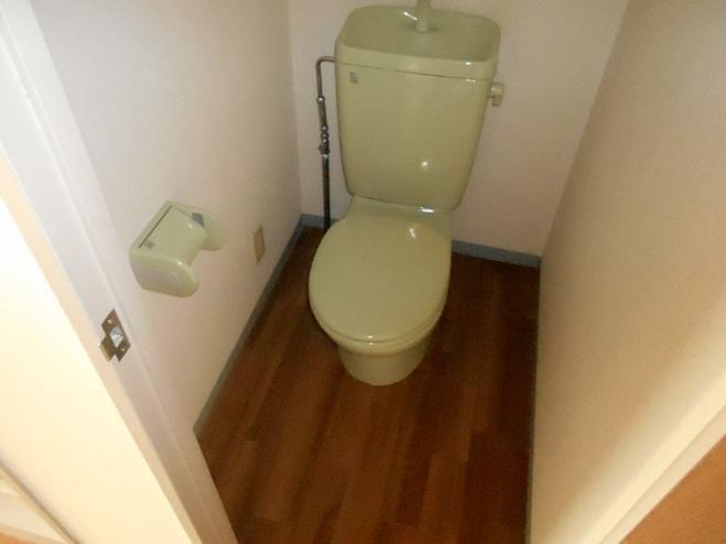 スプリングイセヤマ 204号室のトイレ