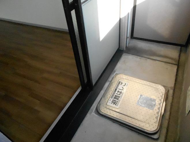 スプリングイセヤマ 204号室のバルコニー