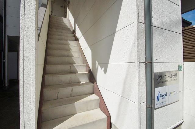 リヴィエール田島 102号室のエントランス