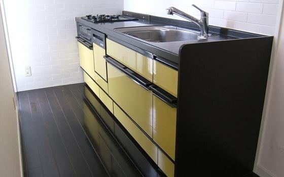 メゾン・ド・レスポワール 403号室のキッチン