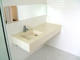 メゾン・ド・レスポワール 403号室の洗面所