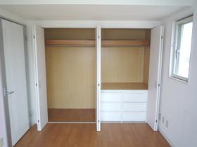 メゾン・ド・レスポワール 403号室の収納
