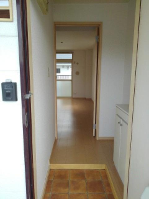 ミューズ松本Ⅲ 02050号室の玄関