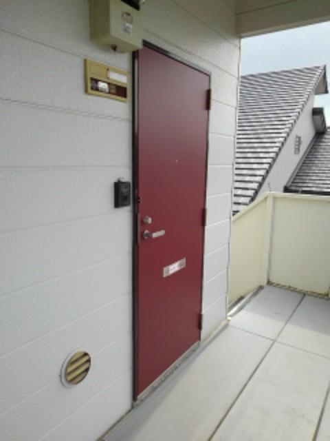 ミューズ松本Ⅲ 02050号室のエントランス