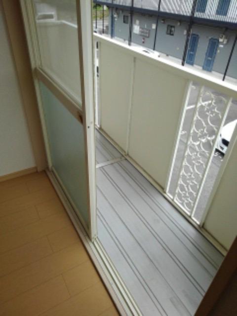 ミューズ松本Ⅲ 02050号室のバルコニー