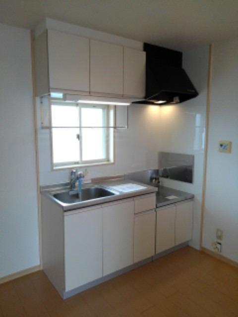ミューズ松本Ⅲ 02050号室のキッチン