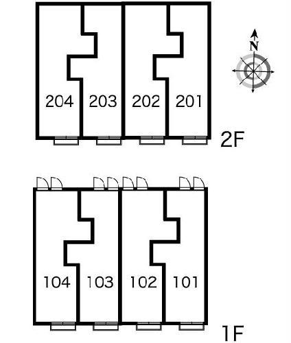 レオパレス雷塚Ⅱ 203号室のその他