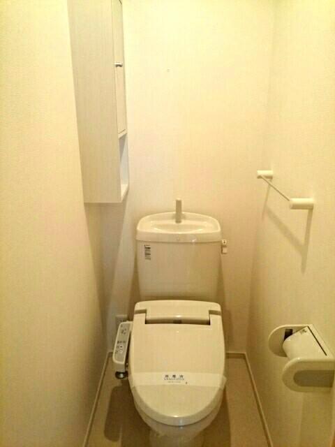 クリアネス堰下 01030号室のトイレ
