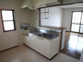 ヴェルデュール宮竹 B101号室のキッチン